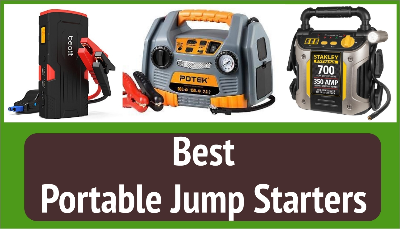 Best Portable Jump Starters To Buy In 2019 Local Guy